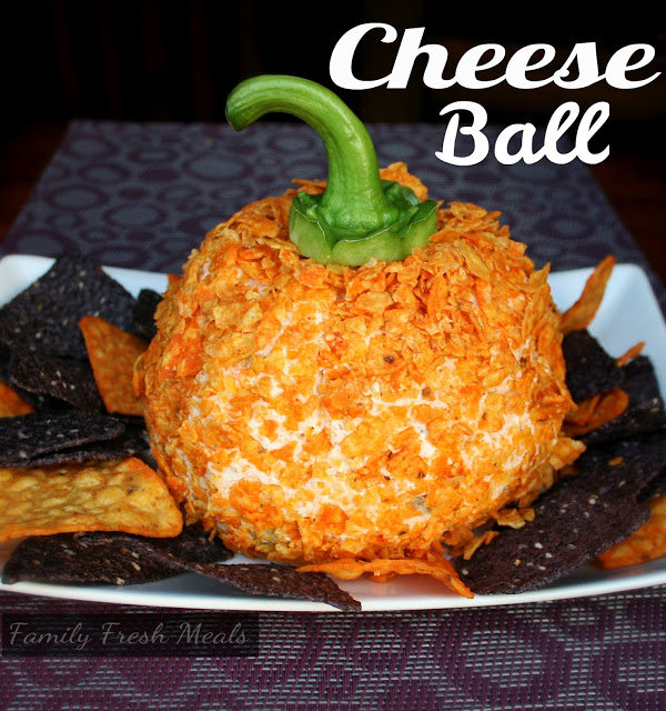 Perfect Fall Cheese Ball