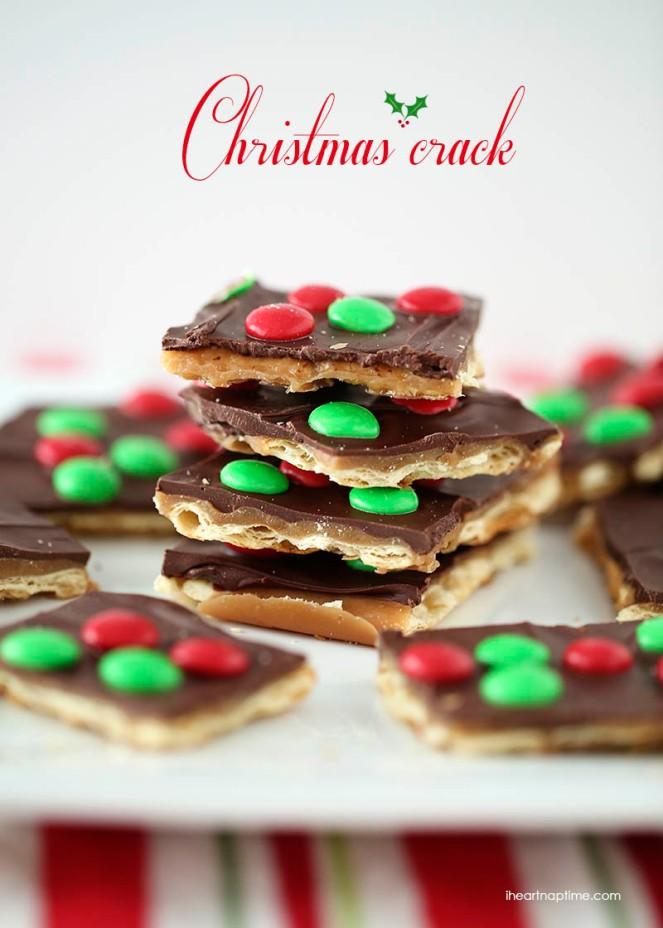 Christmas Crack Toffee 5 mins to prepare